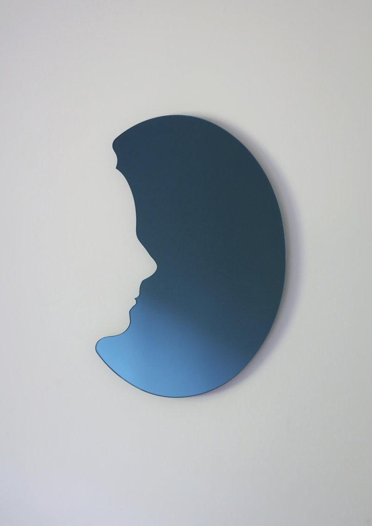 médaillon bleu